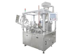 automatic tube filling machine linear type