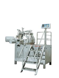 Rapid Mixing Granulator Features